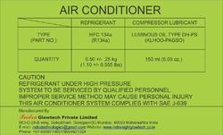 Air- Conditioner Labels