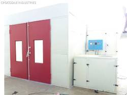 Dry & Wet Spray Paint Booth