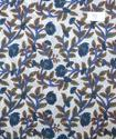 Cotton Voile Hand Block Print Fabric Natural Dyes NP91