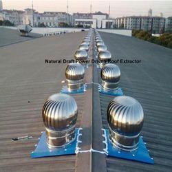 Natural Draft Power Driven Roof Ventilator