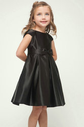 Girls Satin Dress