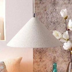 Sulphur Beige Stone Finish Pendant Lamp