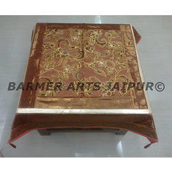 Designer Table Cover Brasso Velvet Simmer