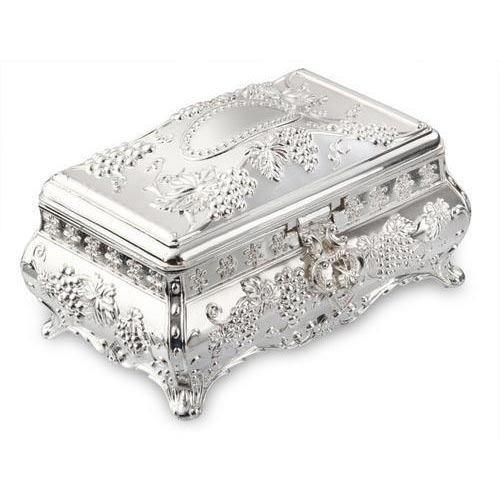 Silver Box Silver Plated Jewelry Box Manufacturer from Amritsar