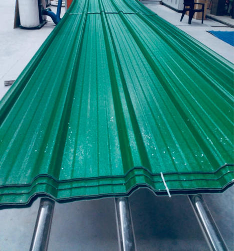 Green colour upvc roofing sheets