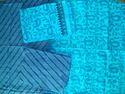 Blue Cotton Ladies Suits Dress Material