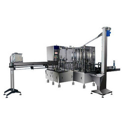 20 Ltr Semi Automatic Jar Rinsing Filling Capping Machine