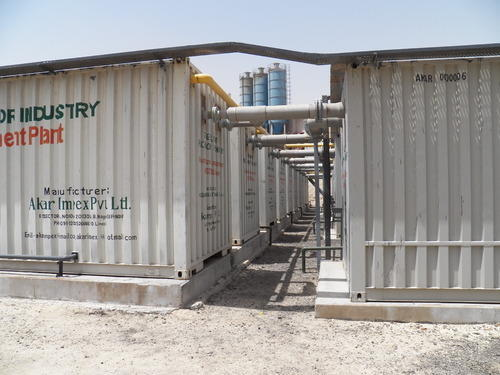 Municipal / Containerized / Mobile Sewage Treatment Plants