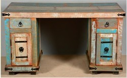 Reclaimed Wood Writing Desk - Reclaimed Wood Furniture