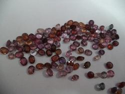 Calibrated Ruby Spinal Cutstones