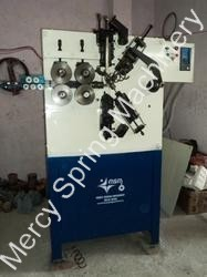 compression coiling spring machine