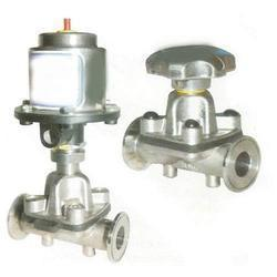 Manual Pneumatic Operated Diaphragm Valve