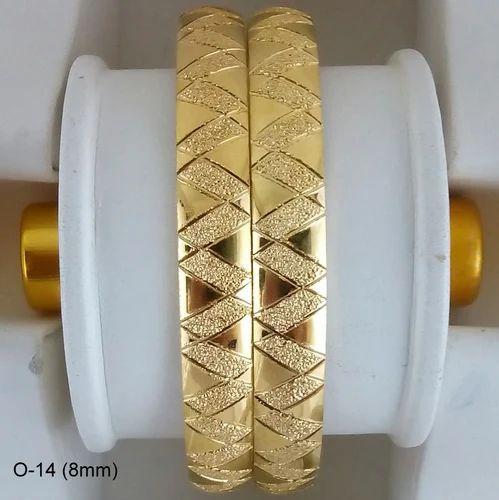 Designer Gold Plated Fashion Bangles