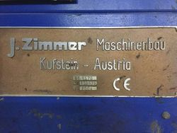 Used Zimmer Rotary Printing Machine