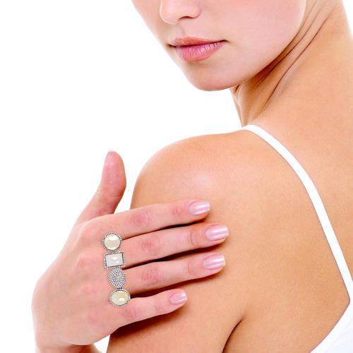 Designer Diamond & Multi Sapphire Finger Ring