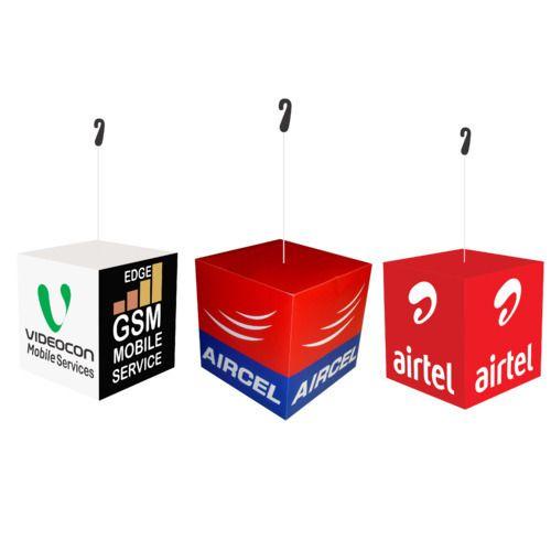 Advertising Dangler Cube Dangler Manufacturer From New Delhi