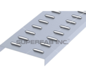 Louvered Flanged Cable Tray Cover