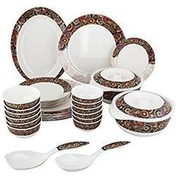 21 Pcs Melamine Dinner Set