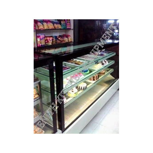Straight Glass Display Counter