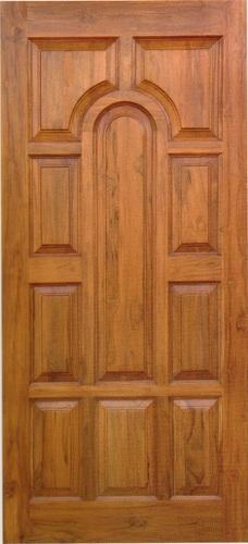 Wooden Door 81x33 Half Padayappa Teak Wood Door
