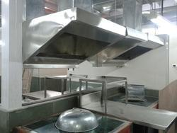Kitchen Fume Extraction System Axial Flow Fans