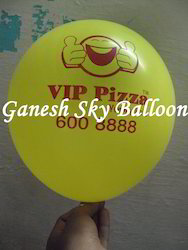 printed rubber balloons