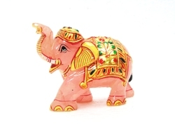 Quartz Painting Elephant