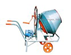Hand Operating Mixer Machine