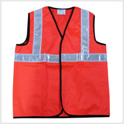 Safety Reflective Jacket (Reflective Tape 2 Inch)