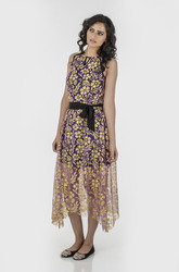 Gold Butterfly Women Clothes