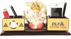 Wooden Desktop Product with Ganesha