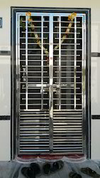 Stainless Steel Main Door Grill. Click To Zoom