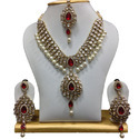 Kundan Necklace & Earring Set