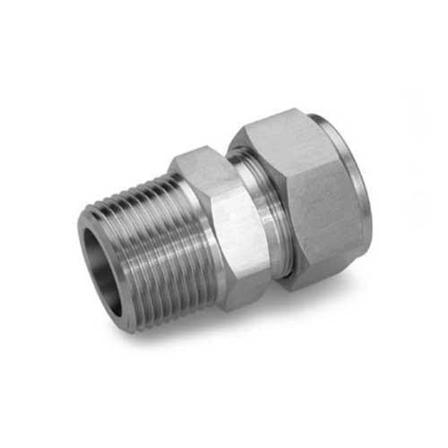 Male Tube Connector at Rs 120 /piece   Double Ferrule Tube ...