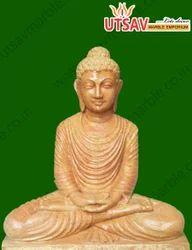 Sand Stone Lord Buddha Statue