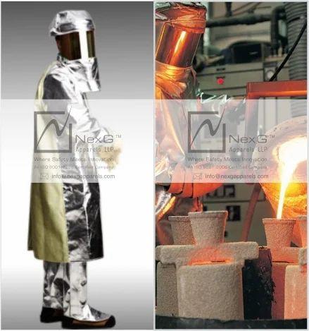 Molten Metal Splash Garment