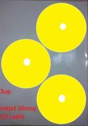 Gami's Inkjet CD Label Glossy 3up
