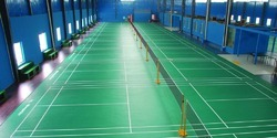Badminton Court Construction