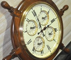 Ships Wheel Clock At Best Price In India