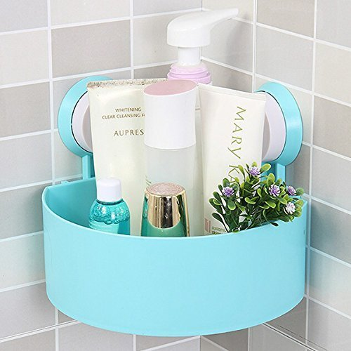 Bathroom counter shelf organizer
