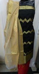 Aaditri Party Wear Banarasi Silk Suit