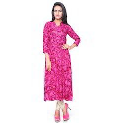Designer Pink Kurti