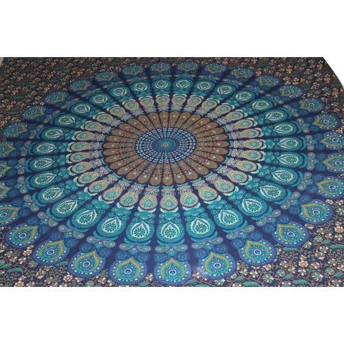 Indian Queen Mandala Tapestry