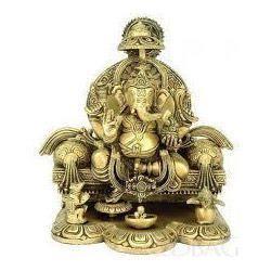 Brass Made Ganeshji Murti