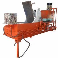 Triple Compression Scrap Baling Machine