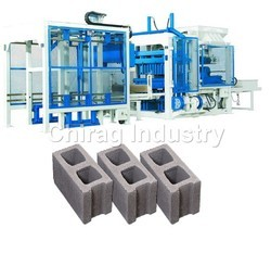 Fully Automatic Concrete Block Plant