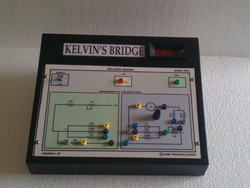 Kelvin's Bridge With Meter