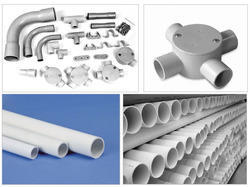 pvc conduit pipes fittings