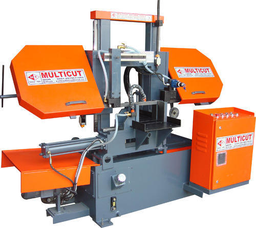 Semi Automatic Double Column Band Saw Machine