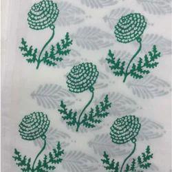 Wooden Hand Block Print Fabric